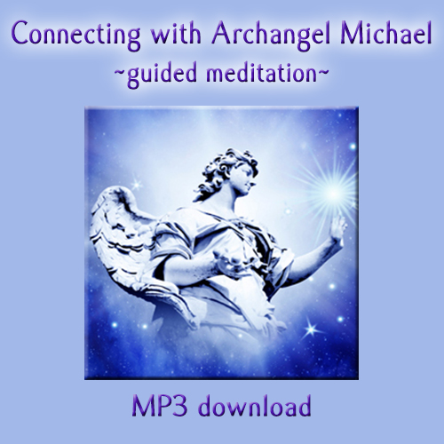 Connecting with AA Michael meditation cover